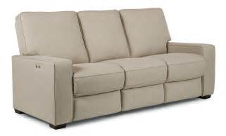 best home furnishings celena contemporary power reclining sofa with exposed wood legs wayside