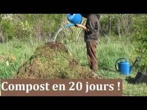 comment faire un compost en 20 jours