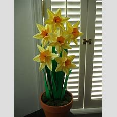 Hand Made Origami Paper Daffodils By Dear Betsy Custommadecom