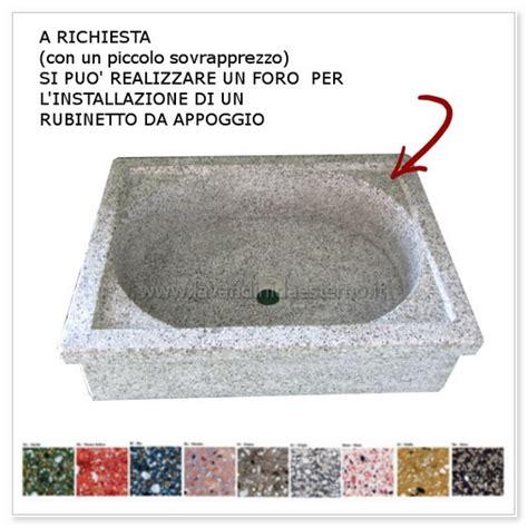 lavello graniglia lavello da giardino pilozzo in graniglia levigata 228