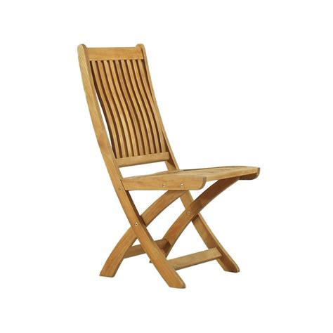 bali folding chair teak vintage