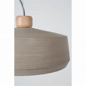 Suspension En Bois : suspension design en b ton et bois bjork ~ Teatrodelosmanantiales.com Idées de Décoration