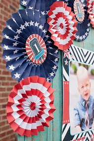 Red White and Blue Birthday Party Decorations