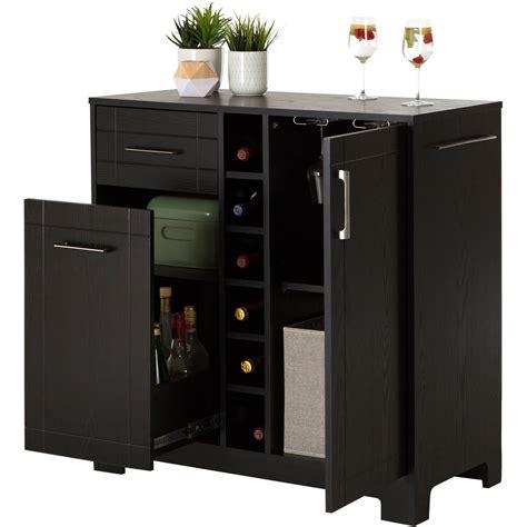 kitchen island on casters bars bar cabinets walmart com