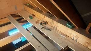 Dachboden Fußboden Verlegen : rauspund im spitzboden in eigenleistung selber verlegen ~ Markanthonyermac.com Haus und Dekorationen