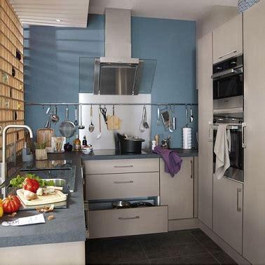 cuisine gris bleu la cuisine bleu on l 39 adore deco cool