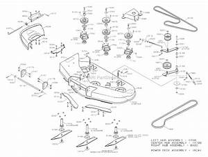 Dixon Speedztr 42  2004  Parts Diagram For Mower Deck