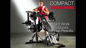 Marcy Pm4400 Leverage Home Gym With Weight Bench Exercise Guide