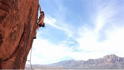 Climbing Rock Climb Vegas Las Mountain Lv