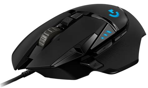 logitech  hero usb wired high performance gaming mouse