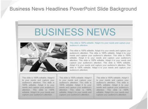 business news headlines powerpoint  background
