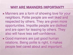 Good manners around the world