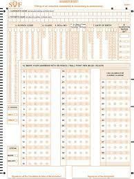 image result  olympiad exam omr sheet exam english