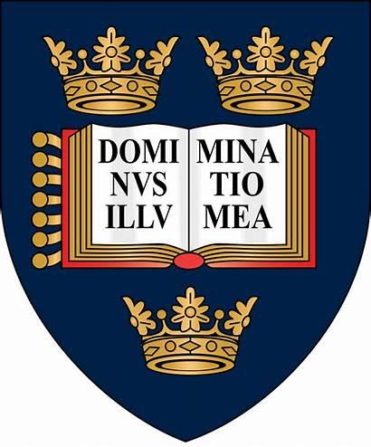 Oxford University Wikipedia Arms Coat English Svg