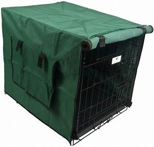Settledown waterproof dog crate cover 24 inch green ebay for Waterproof dog kennel cover