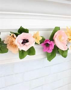 Make, A, Crepe, Paper, Flower, Garland