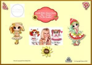 cd rom digital digi stamps color images card toppers