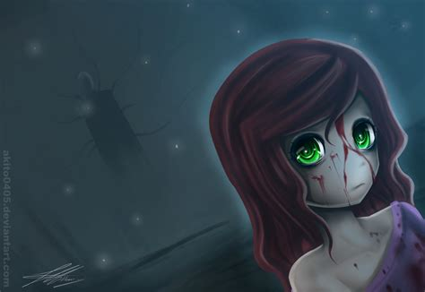 Creepypasta Anime Wallpaper - creepypasta sally by akito0405 on deviantart