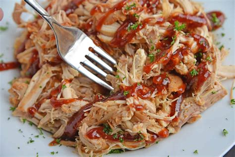 We loved our instant pot spicy sweet & sour chicken made with those frozen chicken so much that i could not wait to try another recipe with the other half of the bag of frozen breast! Instant Pot BBQ Chicken   BBQ Shredded Chicken in the ...