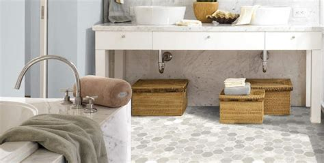 Tarkett Vinyl Flooring Rich Onyx by Picking Out A New Bathroom Floor My Makeover Dreams Come