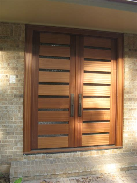 modern front double door designs  houses double entry