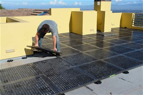 dexsystems rooftop terrace system new support for
