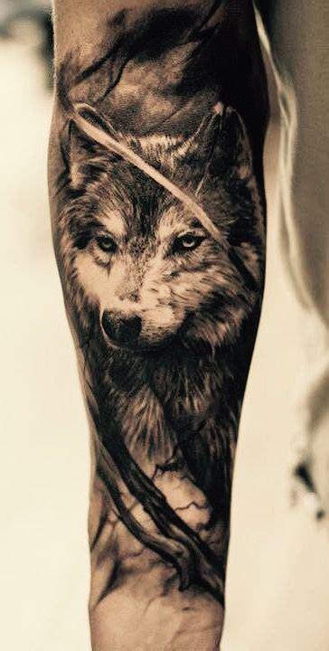 tatuajes de lobos significados  disenos  hombres