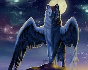78 Best images about Wolf with wings on Pinterest | Wings ...