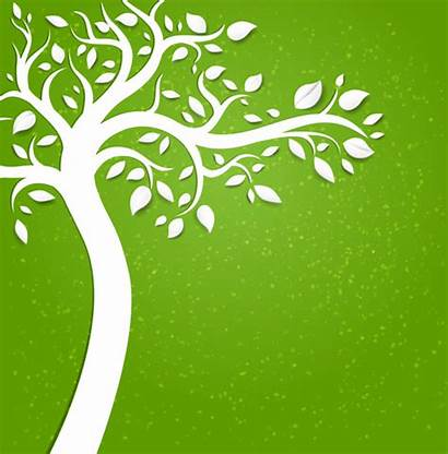 Tree Background Vector Paper Backgrounds Natural Eco