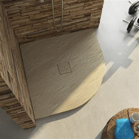 piatto doccia ad angolo piatto doccia in marmo resina semicircolare ad angolo