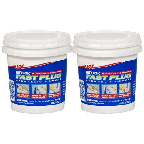 Drylok Floor Paint Home Depot by Ugl 1 5 Lb Drylok Fast 2 Pack 209060 The Home Depot