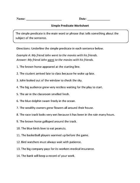 Predicate Nominative Worksheet Worksheets Releaseboard Free Printable Worksheets And Activities