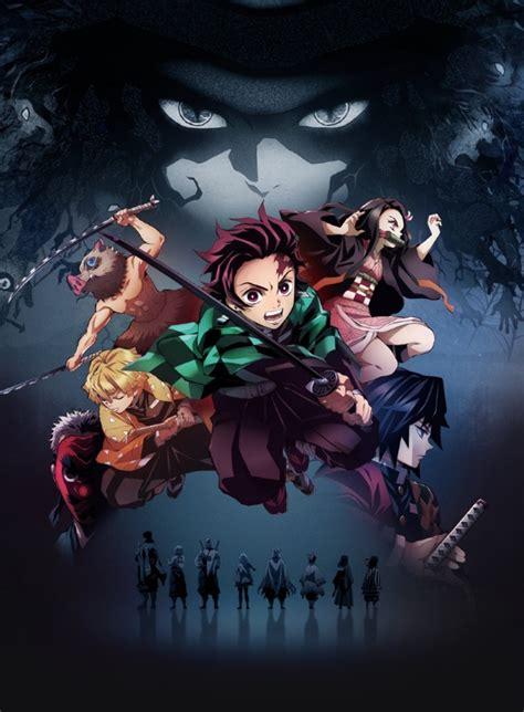 demon slayer kimetsu  yaiba official poster anime