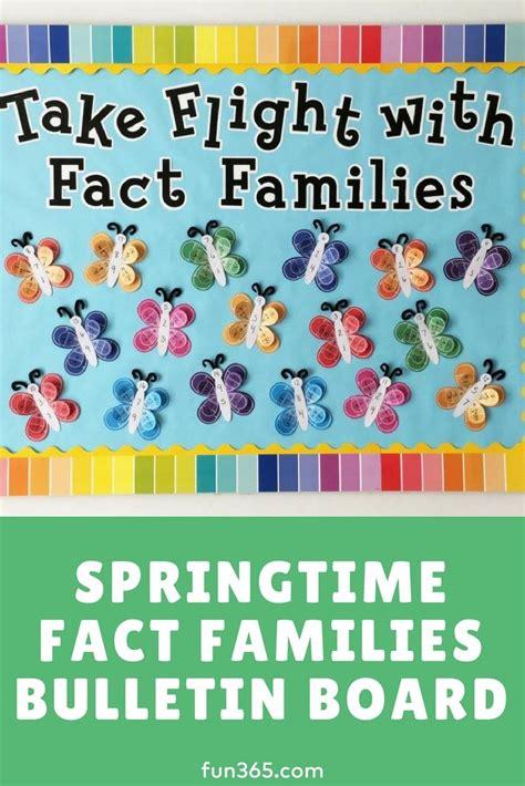 springtime fact families bulletin board  images