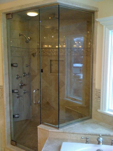 Steam Shower Doors by Steam Shower Door Gallery Intended For Ideas 4