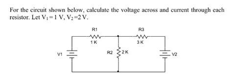 Ways Analyze Resistive Circuits Using Ohm Law Wikihow