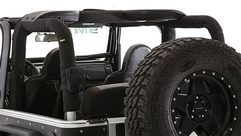 smittybilt  roll bar padding cover kit  molle