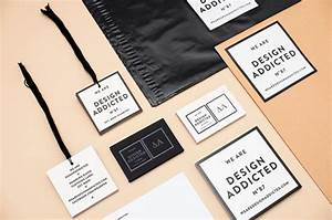 40 cool clothing labels and hang tag designs jayce o yesta for Clothing label design ideas