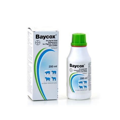 baycox piglet cattle coccidiocide ml vet net