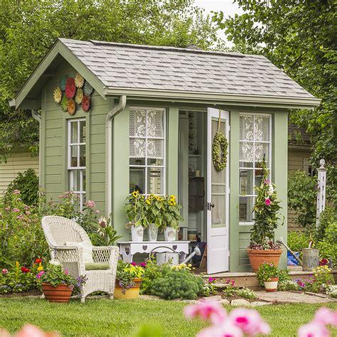 garden shed ideas a gallery of garden shed ideas better homes gardens