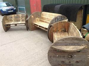 Pallet and cable drum benches 1001 Pallets id