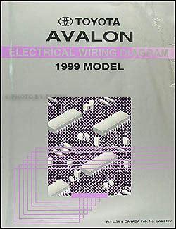 1998 Toyotum Avalon Wiring Diagram by 1999 Toyota Avalon Wiring Diagram Manual Original