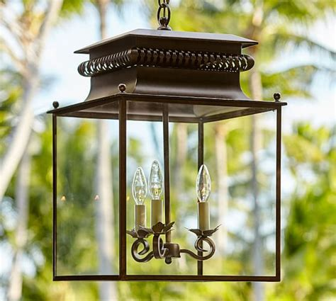 bolton indoor outdoor lantern pottery barn