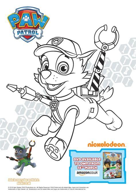 paw patrol pups   pirate treasure colouring page printables  dvd giveaway   playroom