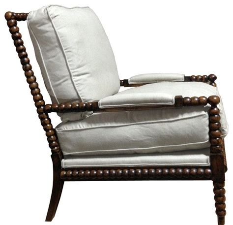 spool chair in cherry finish traditional armchairs