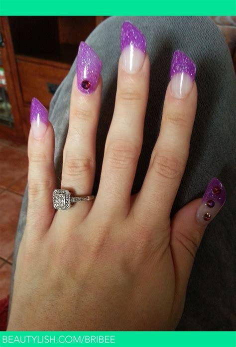 lipstick acrylic nails brittany gs bribee photo