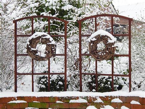 Winterfeste Gartendeko by Weihnachtsdeko Selber Machen Ideen F 252 R Ihren Garten