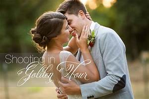 What time should you start shooting determining golden for 1 hour wedding photography