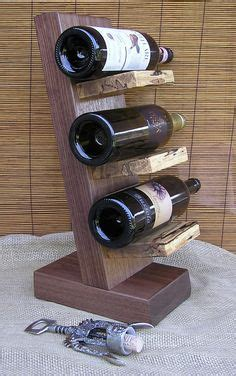 wine rack rustic cedar wood wall decor  etsy