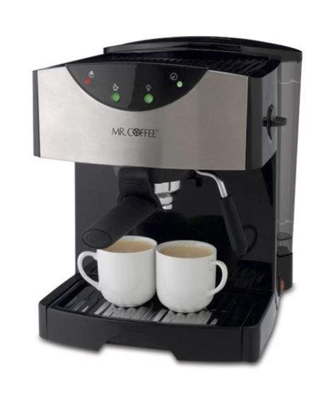 Our review of the mr. Mr. Coffee Pump Espresso/Cappuccino/Latte Machine #ECMP50 Espresso Maker Review